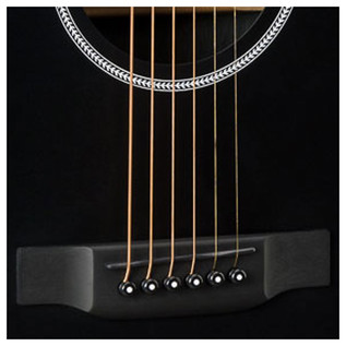 Martin DCXAE Electro Acoustic, Black Bridge