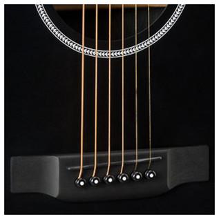 Martin DCXAE Electro Acoustic, Black Bridge