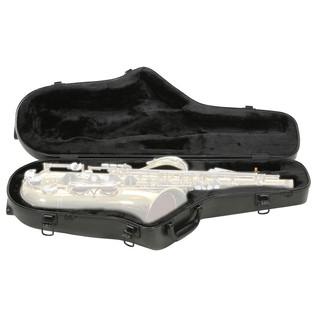SKB Contoured Pro Tenor Sax Case - Front Open
