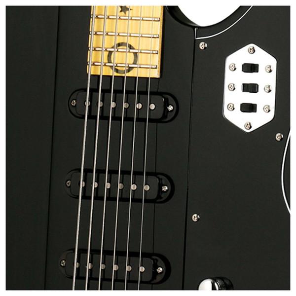 DISC Schecter Robert Smith UltraCure-VI Electric Guitar, Black
