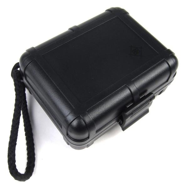 Stokyo Black Box DJ Cartridge Case - Angled Closed