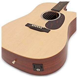 Martin DCX1AE Electro Acoustic, Natural Back