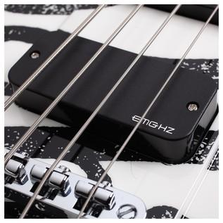 Schecter Simon Gallup Ultra Spitfire Bass EMG Pickups