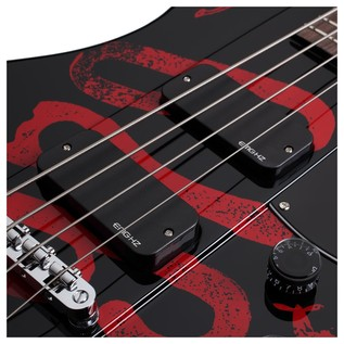 Schecter Simon Gallup Ultra Spitfire Bass