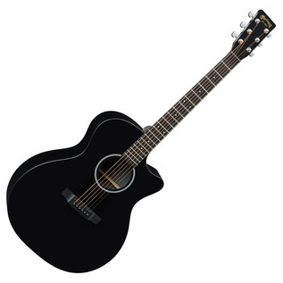 Martin GPCXAE Electro Acoustic Guitar, Black Whole
