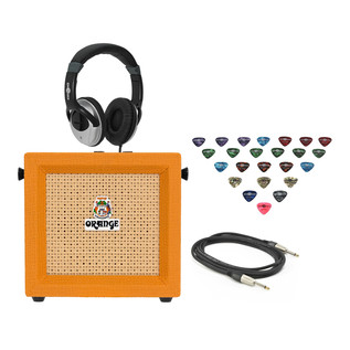 Orange Micro Crush 3 Guitar Amp Practice Pack