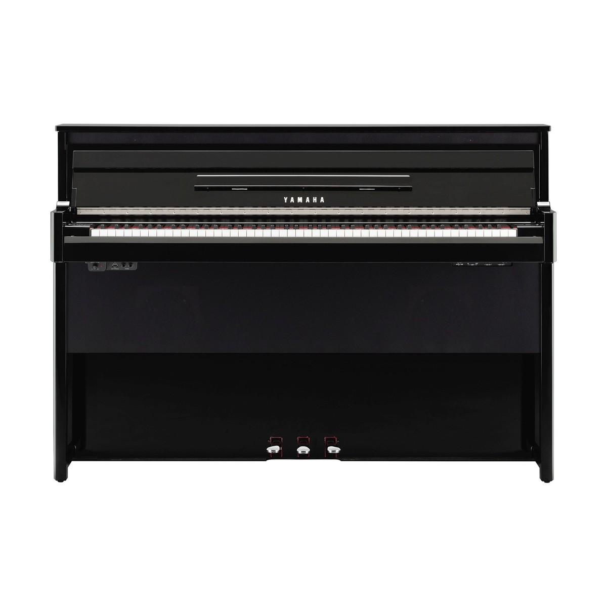 yamaha nu1 avantgrand hybrid digital piano polished ebony. Black Bedroom Furniture Sets. Home Design Ideas