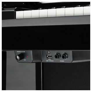 Yamaha NU1 Avantgrand Hybrid Digital Piano, Polished Ebony