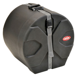 "SKB 14"" x 16"" Floor Tom Case With Padded Interior - Angled Closed"