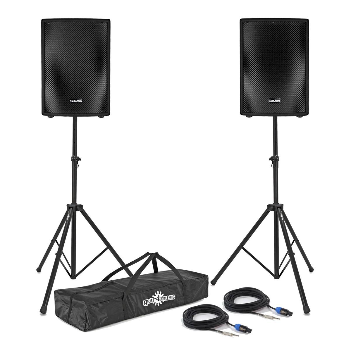 subzero 800w 15 passive pa speaker bundle at gear4music Peavey Bass Wiring Diagram previous image