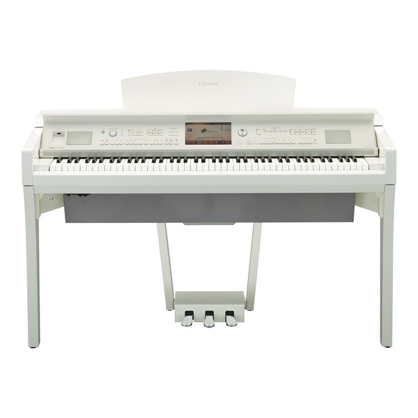 Yamaha CVP709 Clavinova Digital Piano, Polished White