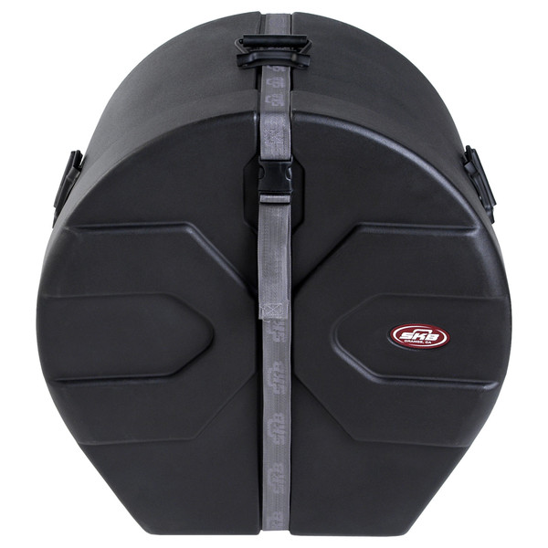 "SKB 16"" x 20"" Bass Drum Case With Padded Interior - Front Closed"