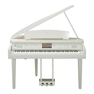 Yamaha CVP709 Clavinova Digital Grand Piano, Polished White