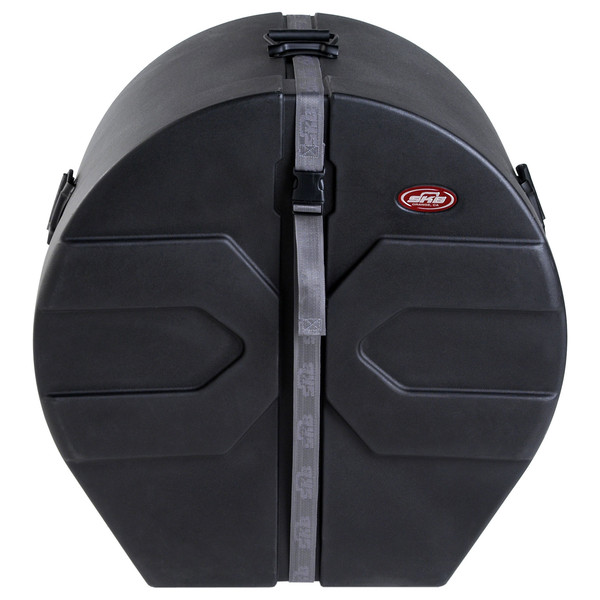 """SKB 16"""" x 22"""" Bass Drum Case With Padded Interior - Front Closed"""