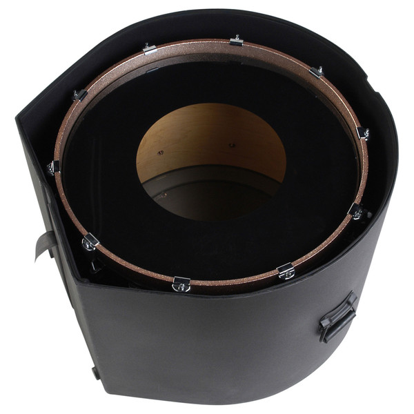 """SKB 16"""" x 22"""" Bass Drum Case With Padded Interior - Top View (Drum Not Included)"""