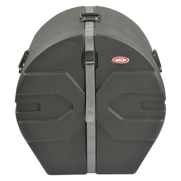 "SKB 18"" x 22"" Bass Drum Case With Padded Interior - Front Closed"