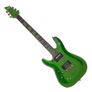 Schecter Kenny Hickey C-1 EX S Left Handed Guitar, Green