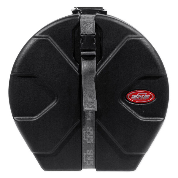 "SKB 6.5"" x 14"" Snare Case With Padded Interior - Front Closed"