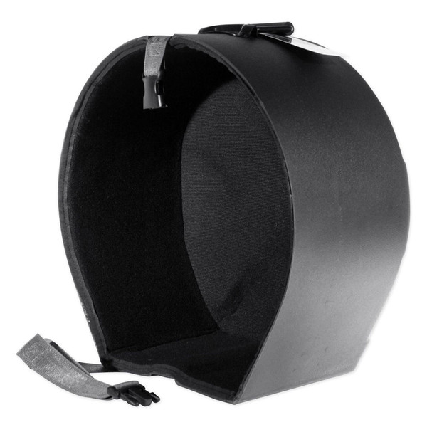 """SKB 6.5"""" x 14"""" Snare Case With Padded Interior - Angled Open"""