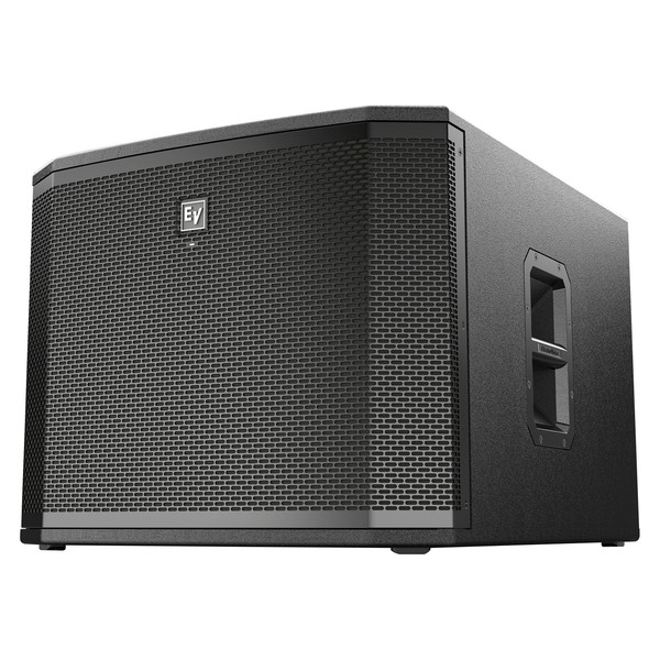 """Electro-Voice ETX-18SP 18"""" Active PA Subwoofer, Front Angled Left"""