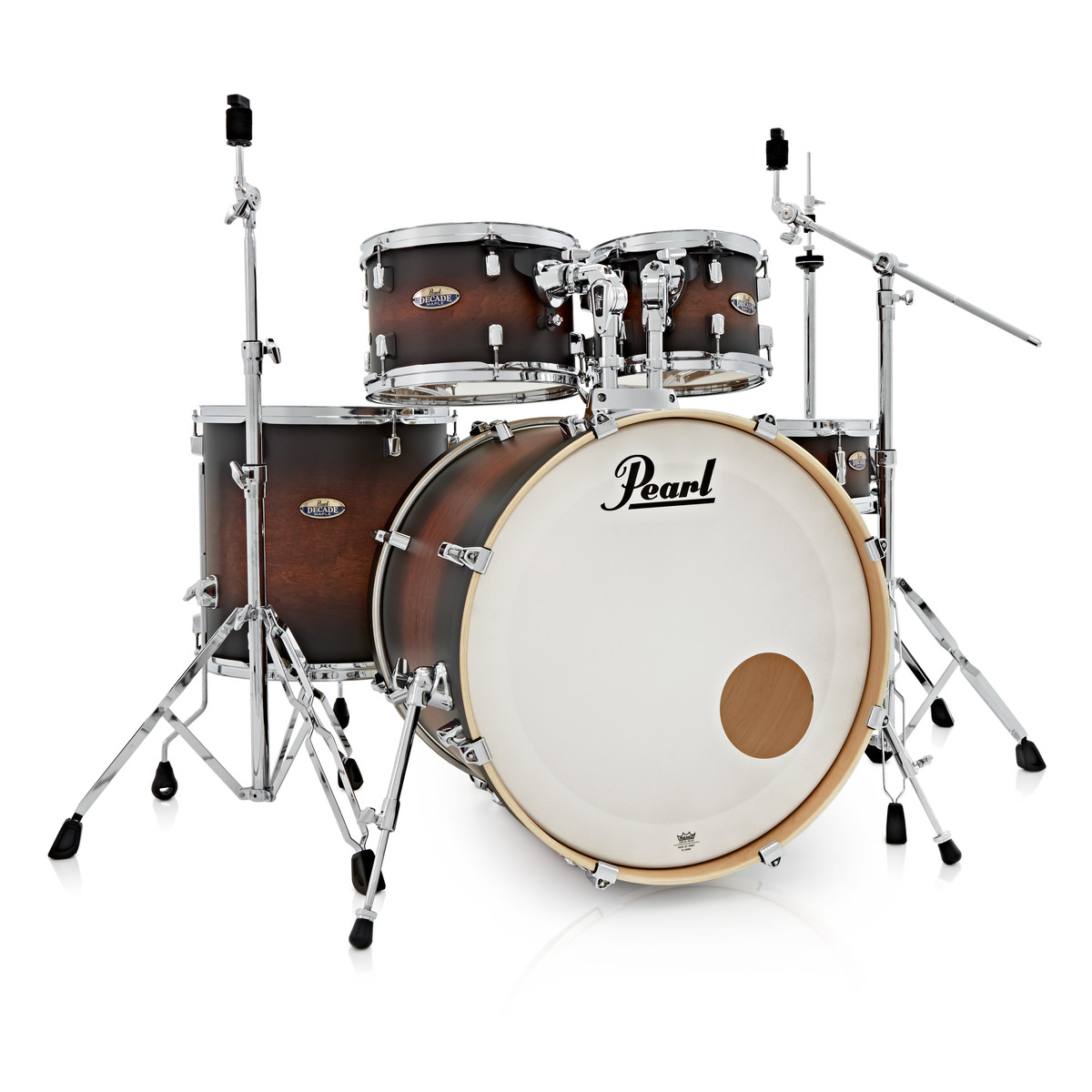 pearl decade maple 22 39 39 am fusion w hardware pack satin brown burst at gear4music. Black Bedroom Furniture Sets. Home Design Ideas
