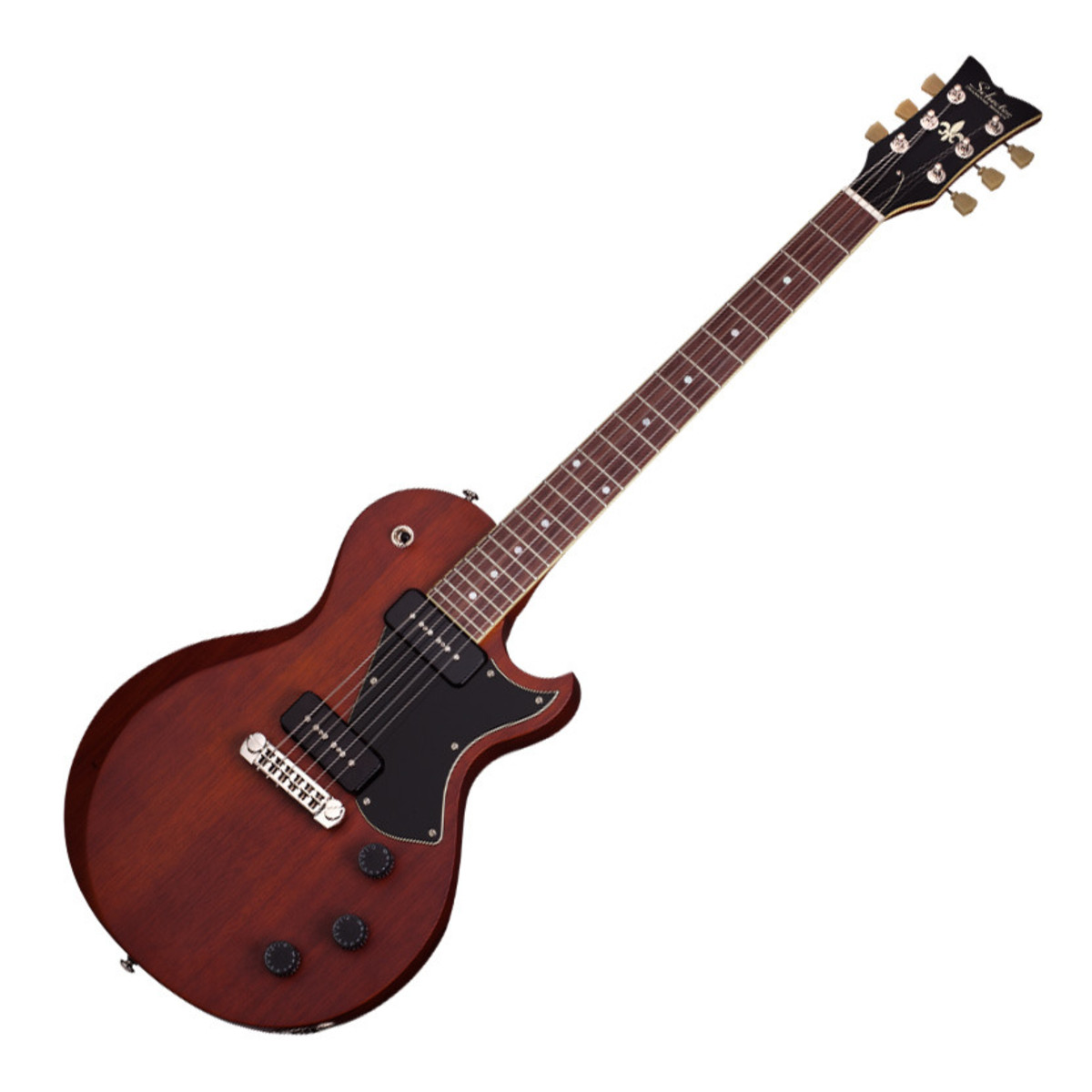 schecter solo ii special electric guitar walnut pearl at gear4music. Black Bedroom Furniture Sets. Home Design Ideas