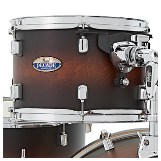 Pearl Decade Maple 22'' Am Fusion W Hardware Pack, Satin Brownburst