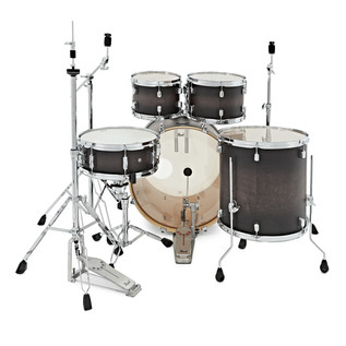 Pearl Decade Maple 22'' Am Fusion W/ Hardware Pack, Satin Blackburst