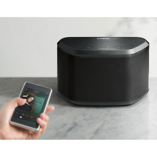 Yamaha WX030 Wireless Bluetooth Speaker with MusicCast, Black