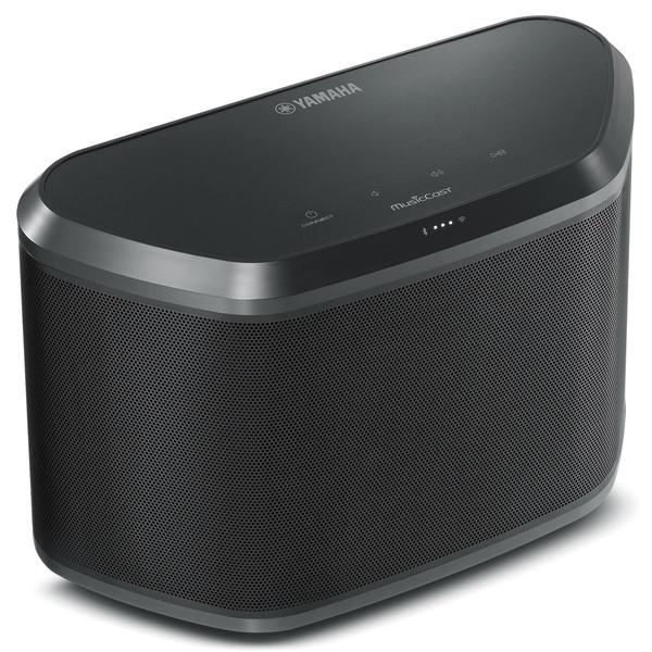 Yamaha WX030 Wireless Bluetooth Speaker with MusicCast, Black