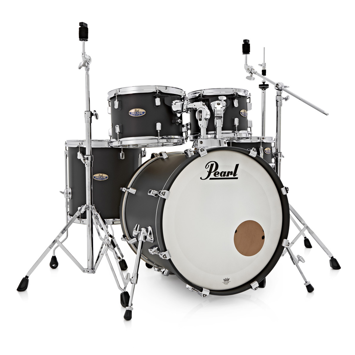 pearl decade maple 22 39 39 fusion w hardware pack slate black at gear4music. Black Bedroom Furniture Sets. Home Design Ideas
