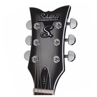 Schecter T S/H-1 Electric Guitar, Silverburst