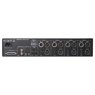 Universal Audio 4-710d Tone-Blending Mic Preamp - Rear