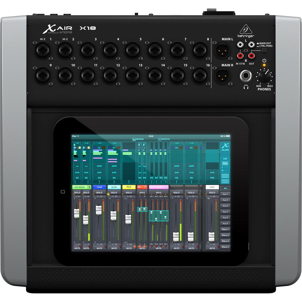 Behringer X18 X Air Digital Ipad Tablet Mixer B Stock At