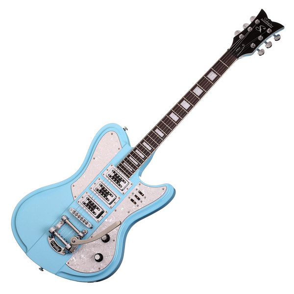 Schecter Ultra III Electric Guitar, Vintage Blue
