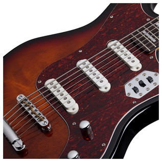 Schecter Hellcat VI Electric Guitar, Sunburst