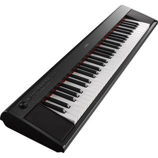 Yamaha Piaggero NP12 Portable Digital Piano, Black