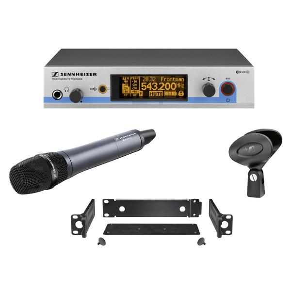 Sennheiser EW 500 965 G3 GB Wireless Handheld Microphone System, Ch38