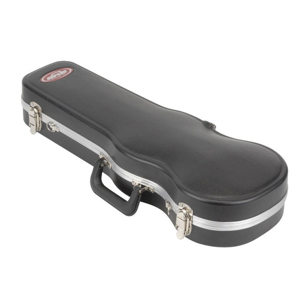 """SKB 1/2 Size Violin or 12"""" Viola Deluxe Fitted Case - Case Open"""