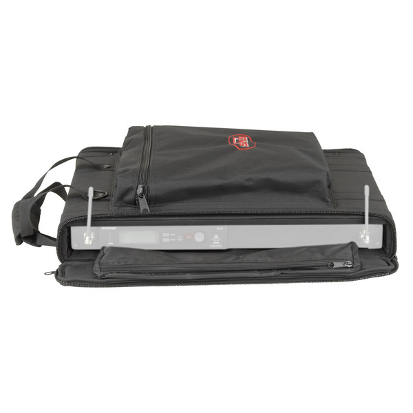 SKB 1U Soft Rack Case - Front Open (Equipment Not Included)