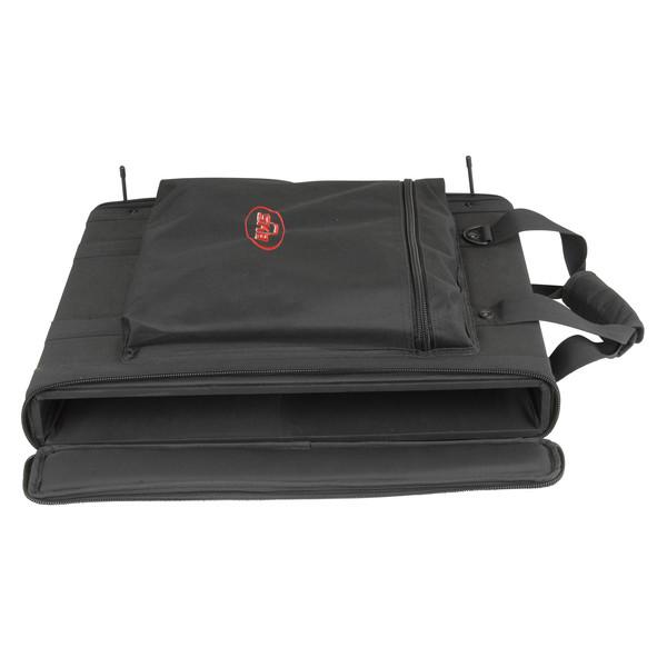SKB 1U Soft Rack Case - Front Open