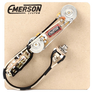 Emerson Custom Reverse Layout 3-Way Prewired Kit, 500k
