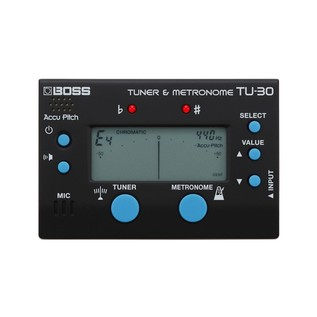 Boss TU-30 Tuner and Metronome