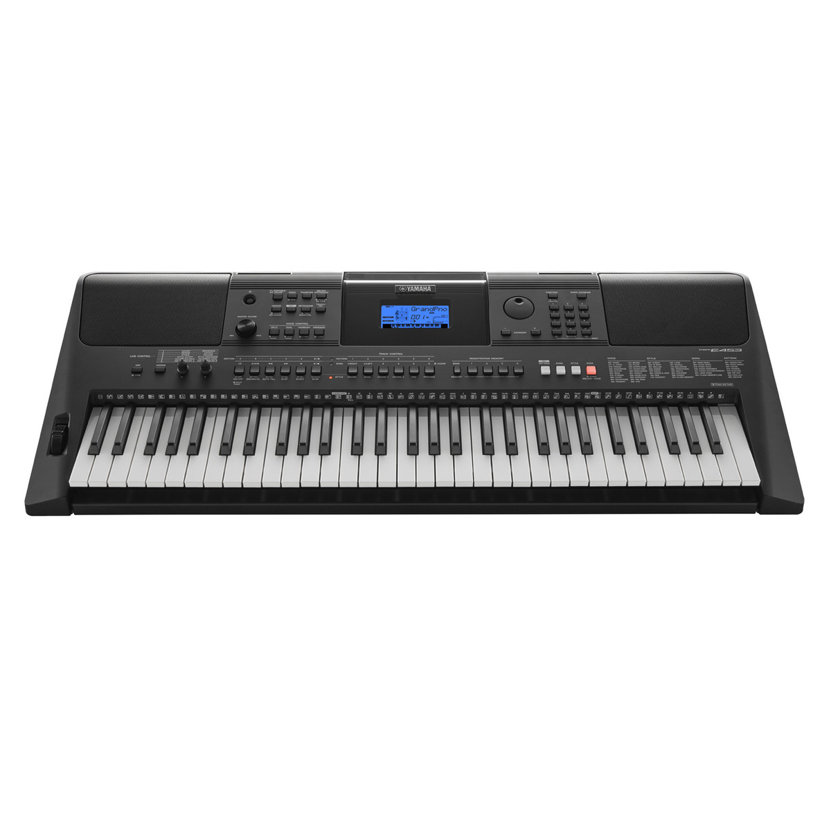 Yamaha psr e453 keyboard x frame package at for Cheap yamaha keyboards