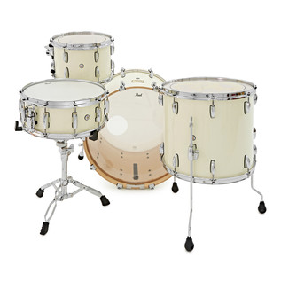 Pearl Session Studio Classic 22'' 3 Piece Shell Pack + Snare, Ivory