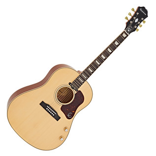 Epiphone EJ-160E John Lennon Electro Acoustic Guitar, Antique Natural