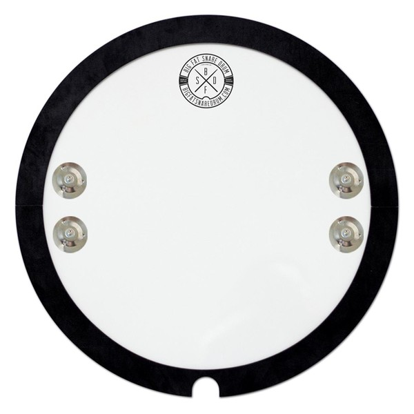 "Big Fat Snare Drum ""The Snare-Bourine"", 14"" Dampening Pad"
