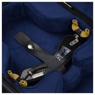 Negri Venezia Violin Case in Black and Blue