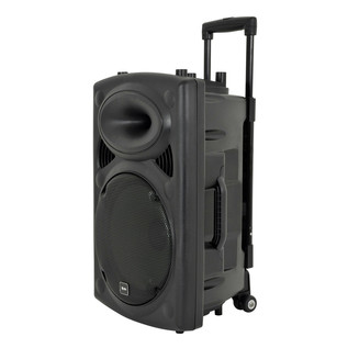 QTX QR15PA Portable PA System with Wireless Mics