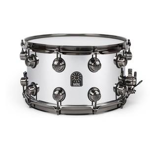 Natal Steel 14x6.5 Snare Drum w/ Brushed Nickel Hardware
